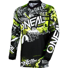 O'Neal Element Maillot de cyclisme Adolescents, attack-black/hi-viz